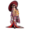 Kasumigaoka Utaha - Saenai heroine no sodate-kata Kimono Version 1/8