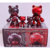 GUNDAM CONVERGE BEARGGUY F SPECIAL SET KUMA BLACK AND RED