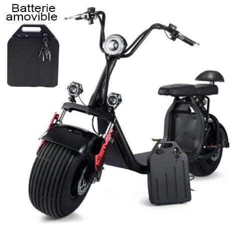 azur scooter batterie d montable facilement scooter lectrique fun. Black Bedroom Furniture Sets. Home Design Ideas