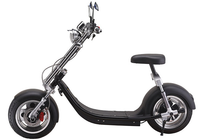 scooter lectrique type chopper moteur 1500w type harley. Black Bedroom Furniture Sets. Home Design Ideas