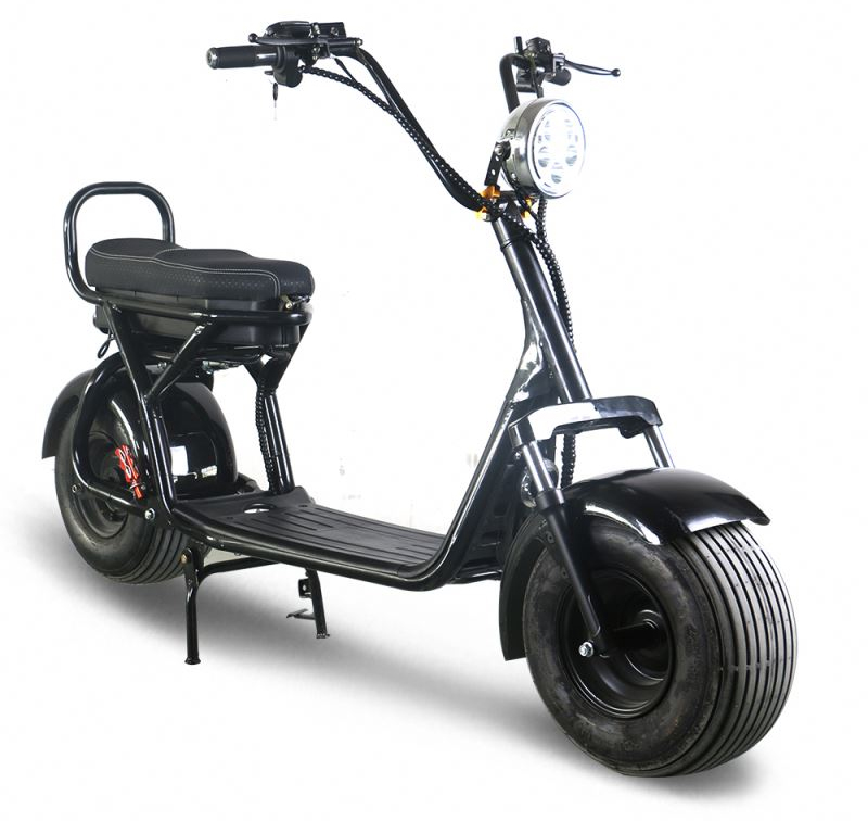 commander votre citycoco lectrique azur scooter type harley. Black Bedroom Furniture Sets. Home Design Ideas