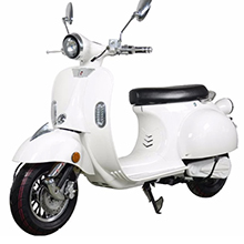 Scooter Vespa électrique Blanc
