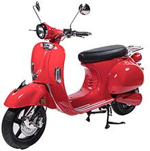 Scooter Vespa électrique Rouge