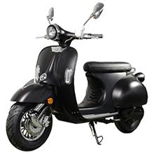 Scooter Vespa électrique Noir Mat