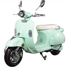 Scooter Vespa vert électrique