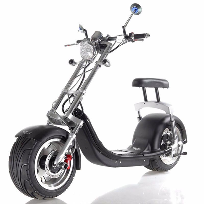 scooter lectrique type chopper moteur 1200w batterie 60v12ah. Black Bedroom Furniture Sets. Home Design Ideas