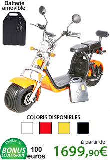 Azur Scooter X10 Harley électrique