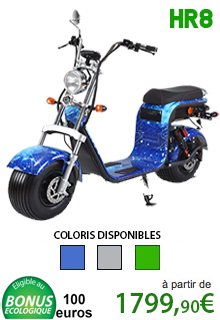 Azur Scooter HR8 Double batteries