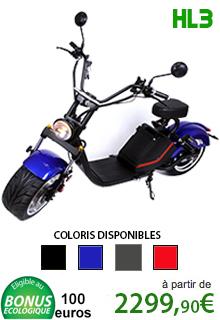 Azur Scooter HL3 puissance 3000W