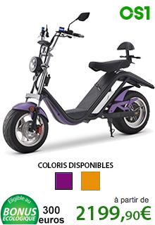 Azur Scooter électrique 2000 Watts