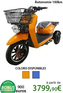 Scooter électrique 3 roues pour les PROs
