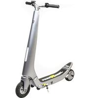 Trottinette Freewheel Rider Trends 100% électrique couleur argentée
