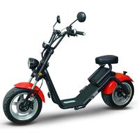 Caigiees 2.0 : scooter électrique Rouge, homologué route en France