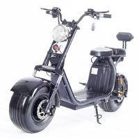 Scooter 100% électrique Noir à Batterie amovible, homologué route française avec carte grise