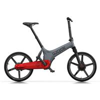 GoCycle GS Gris-Rouge - vélo à assistance électrique Haut De Gamme