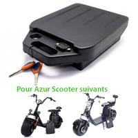 Batterie 60V12Ah ou 60V20Ah pour Azur Scooter / Citycoco à Batterie amovible