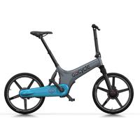 GoCycle GS Gris-Bleu clair - vélo à assistance électrique Haut De Gamme