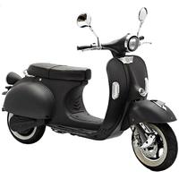 Un Look VESPA pour ce scooter électrique Noir