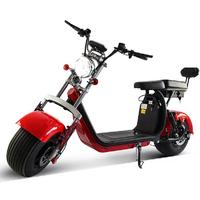 Scooter électrique Harley Rouge