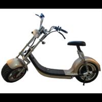 Scooter électrique Citycoco type Chopper couleur Champagne - Autonomie jusqu'à 50km