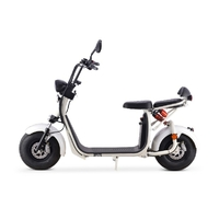 Azur Scooter électrique blanc, équivalent 50cc