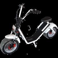 Citycoco Caigiees 2.0 : scooter électrique Blanc - Autonomie de 50 km