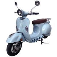 Scooter électrique 2Twenty Roma Bleu- carte grise incluse, silentieux et sans pollution