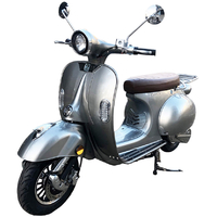 Scooter électrique 2Twenty Roma 57 argenté - Homologué CE et route française