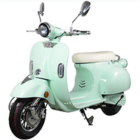 Scooter électrique E-Azur Rétro 50 Vert pâle - Bonus écologique jusqu'à 600 euros