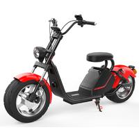 Azur Scooter HL3 Rouge : Le scooter électrique 50cc avec moteur 3000W
