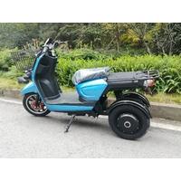 Azur Scooter 3W, L'utilitaire à 3 roues 100% électrique autonomie jusqu'à 100km