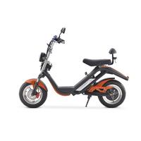 Azur Scooter : Scooter électrique type Harley Orange - Moteur 2000W