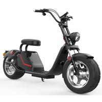 Azur Scooter HL3 Noir, autonomie de 45km et bonus écologique