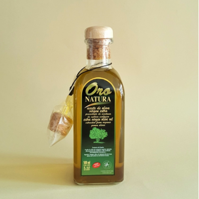 L'huile d'olive extra vierge Oro Natura bio (50 cl)