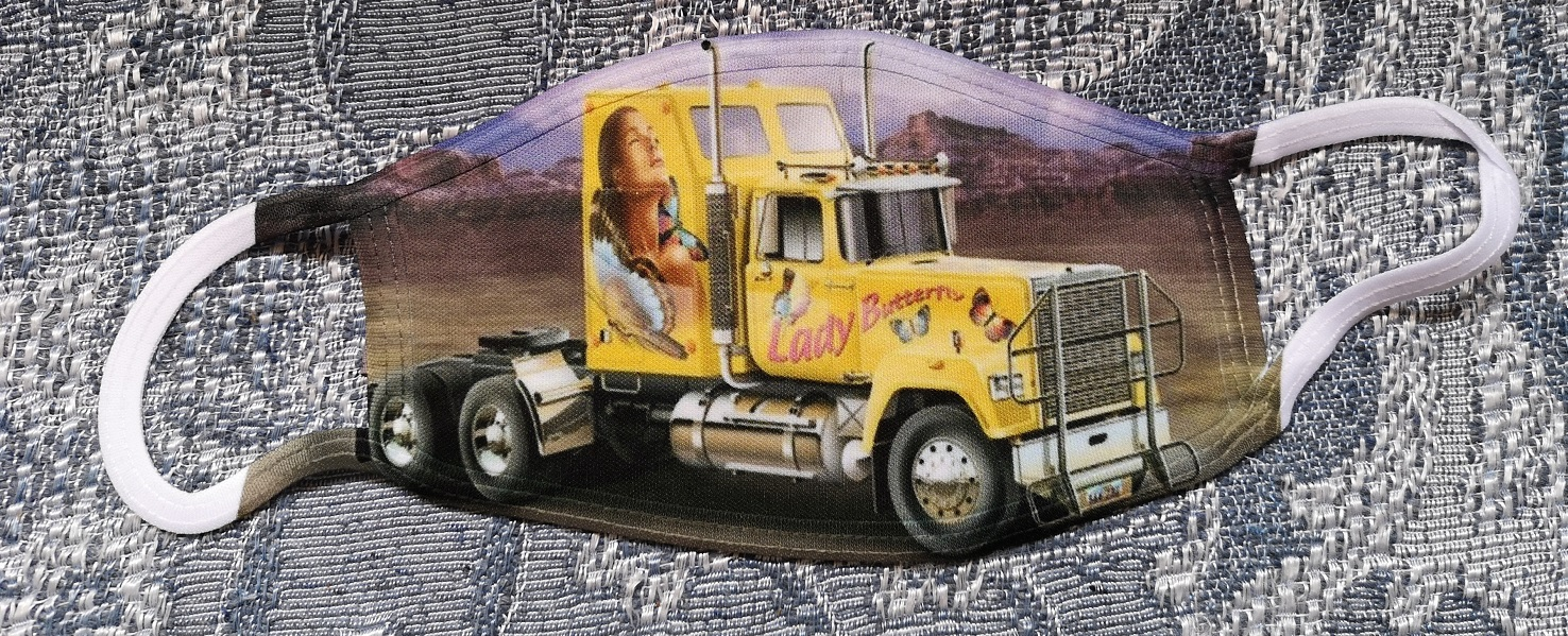 Masque Camion Lady Butterfly