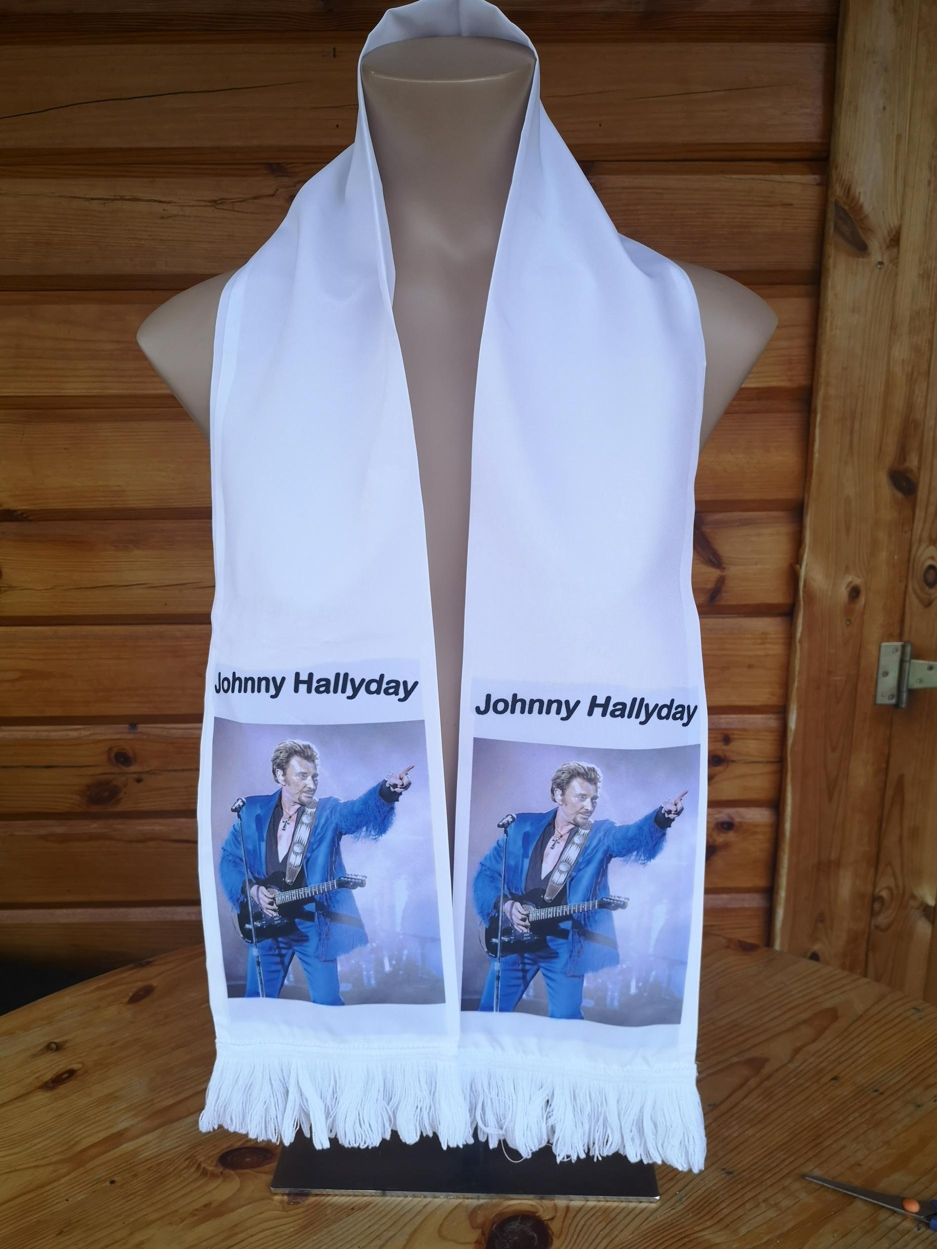 Echarpe Johnny Hallyday