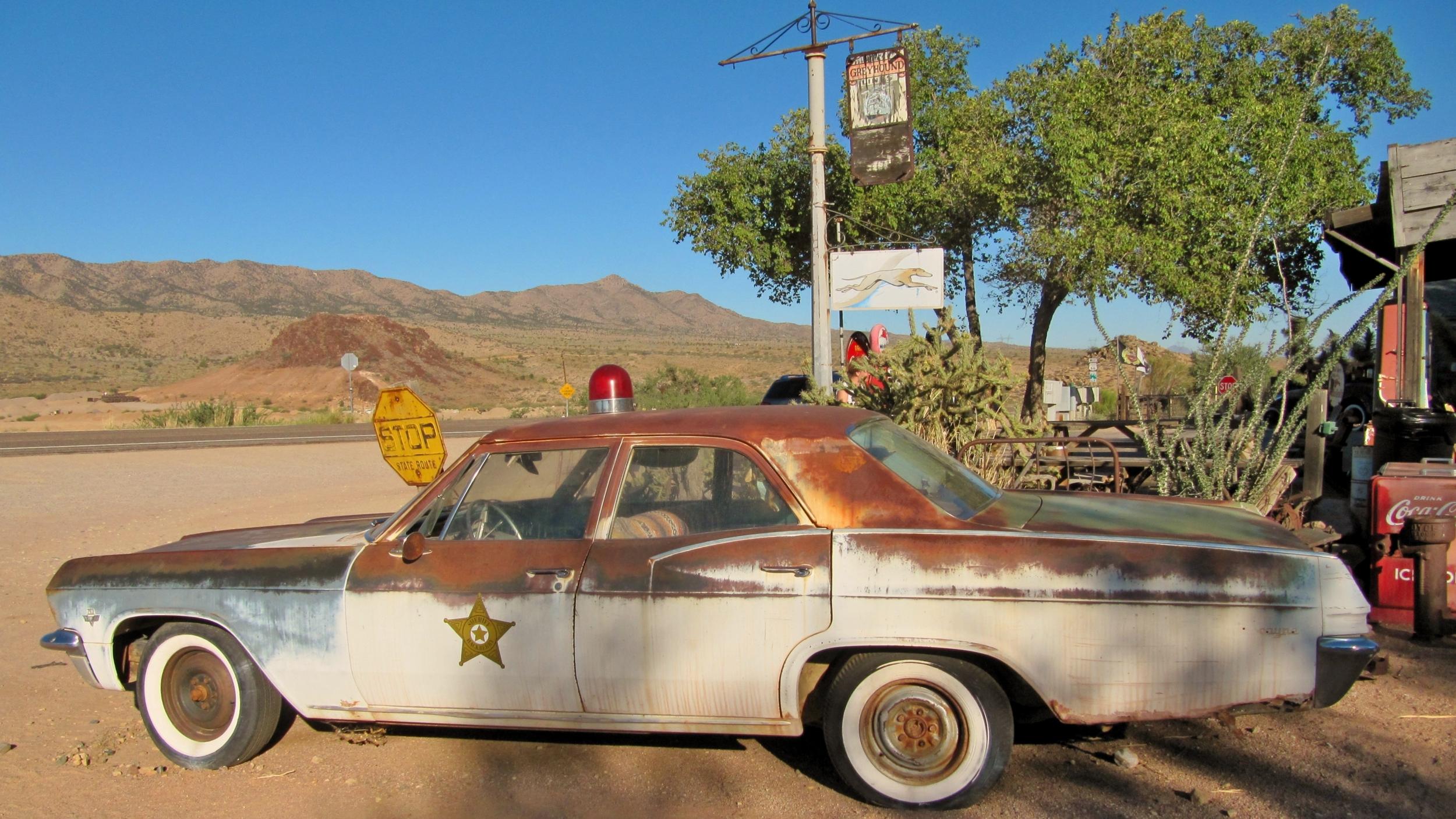Cadillac Police Américaine
