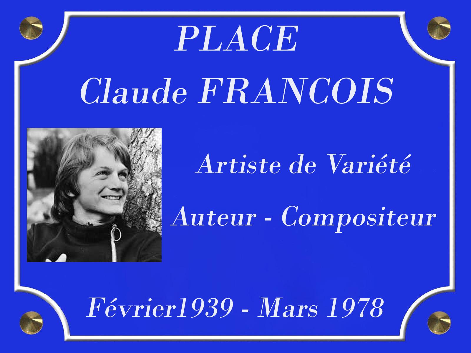PLACE CLAUDE FRANCOIS ok
