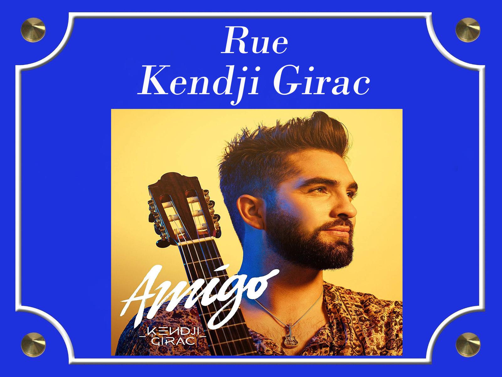 Plaque de rue Kendji Girac