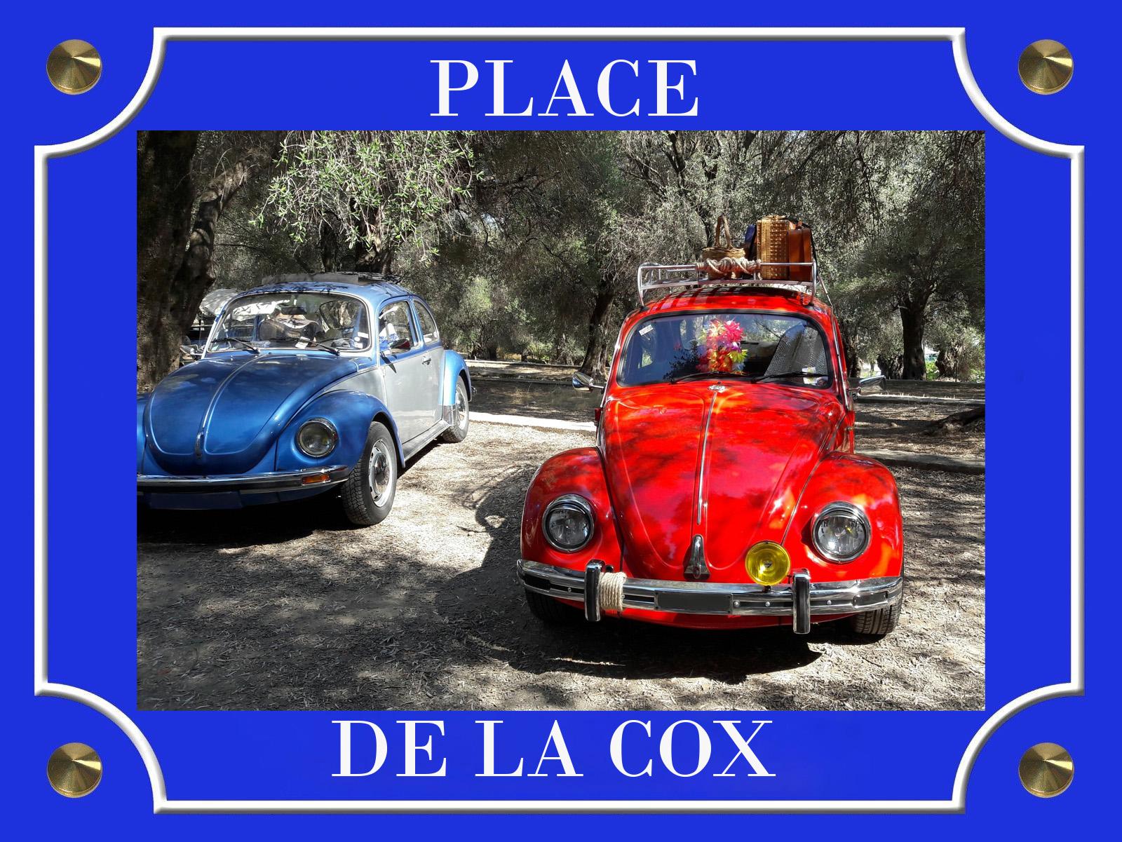 PLACE DE LA COX BLEU & ROUGE 1