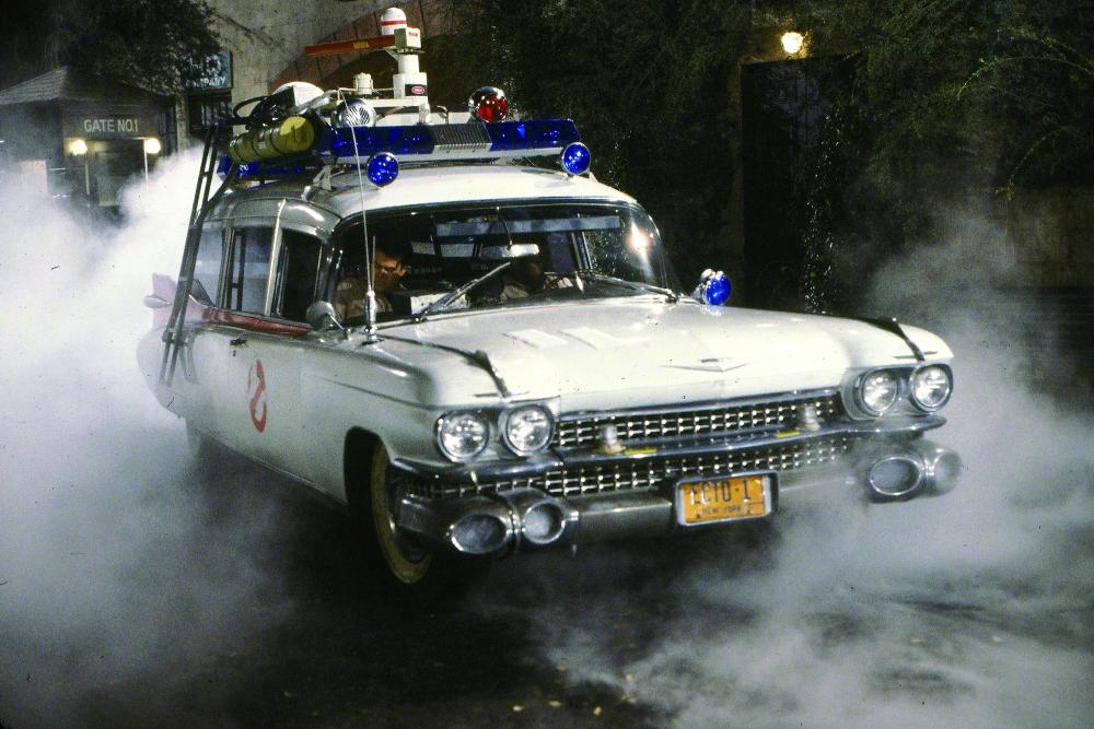 Plaque Métal Cadillac SOS Fantômes de 1959