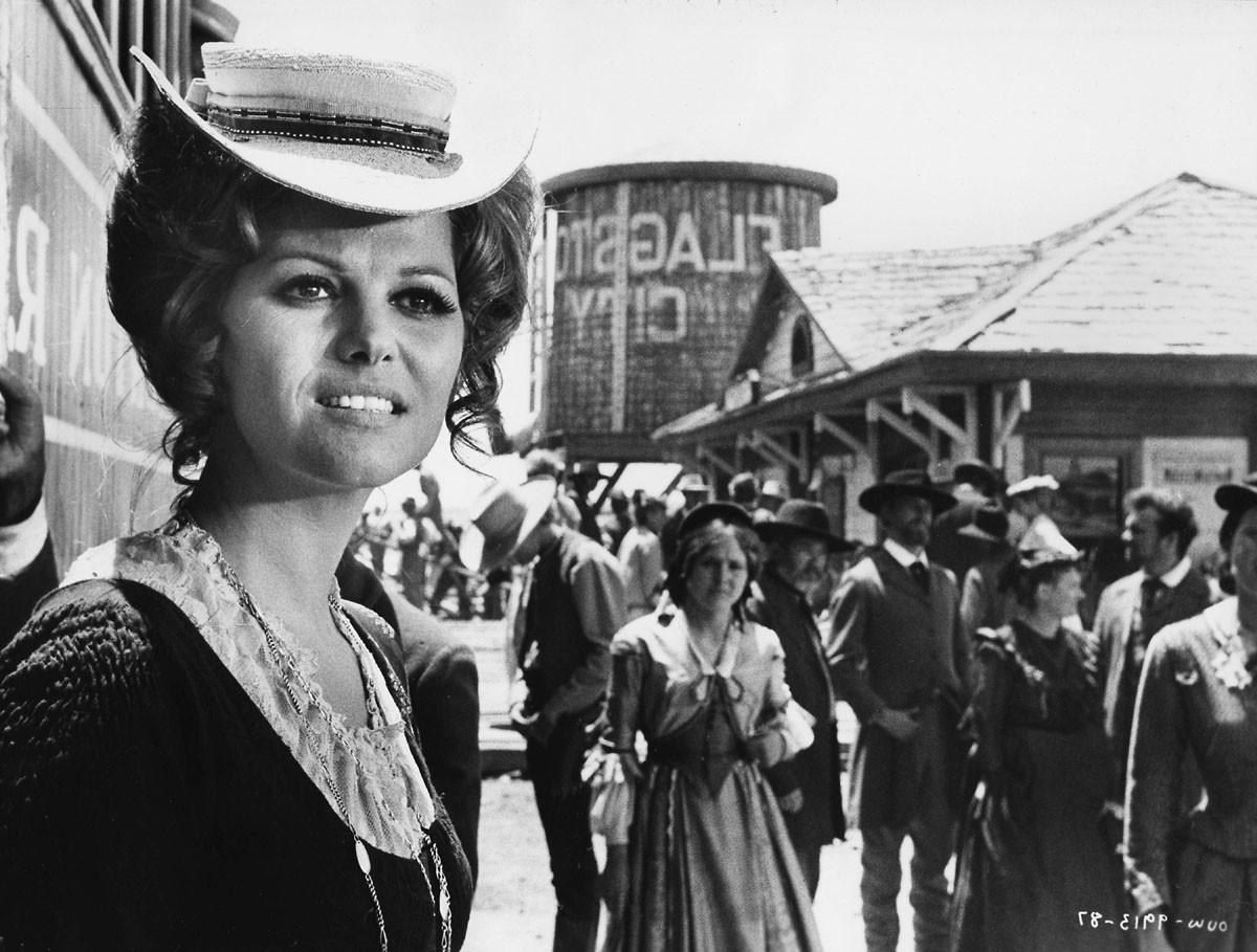 Claudia Cardinale Il était une fois l'ouest 1969.