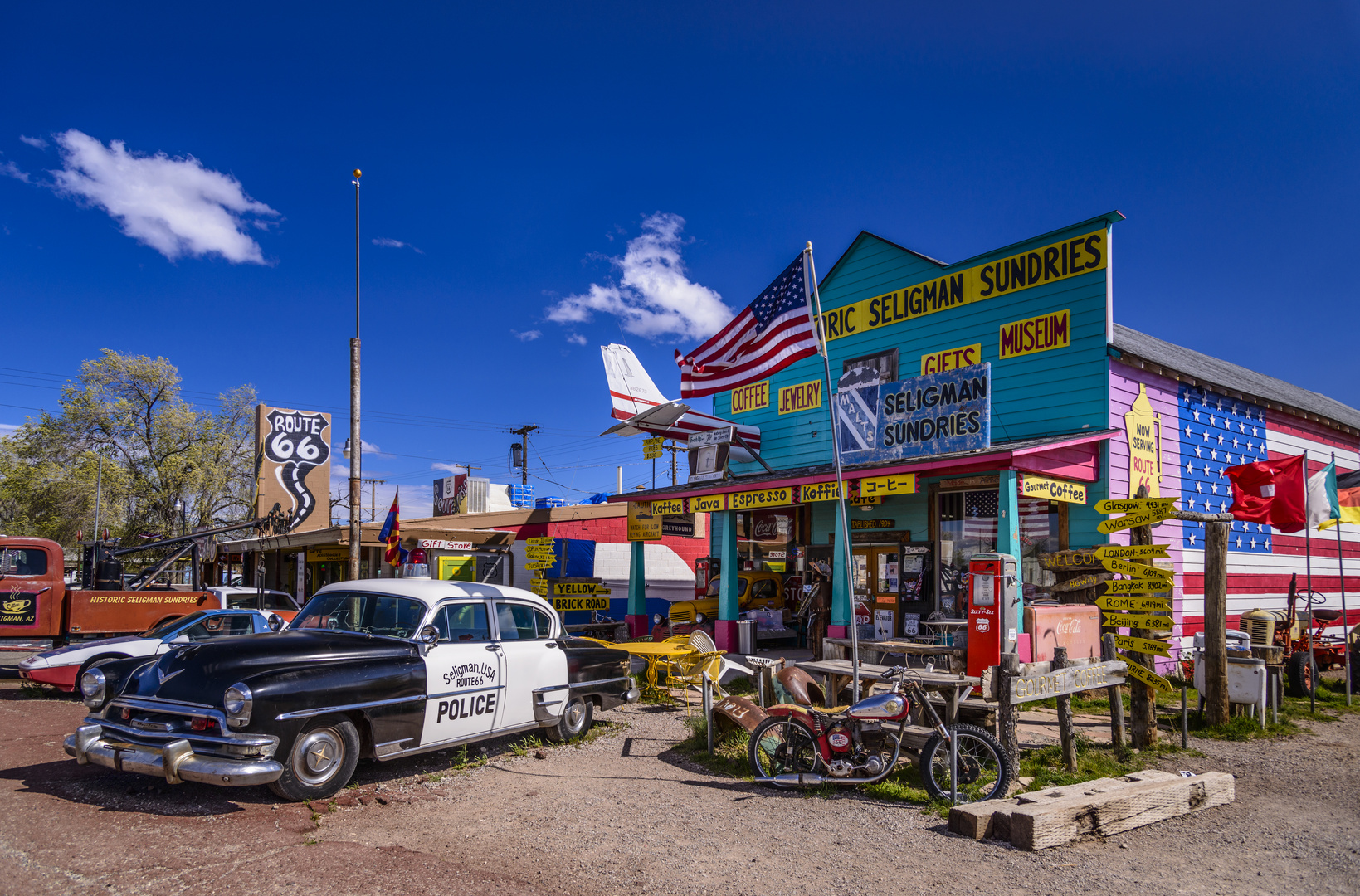 seligman sundries route-66 arizona usa