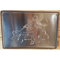 Plaque Garage Pin Up 2