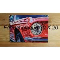 Votre Plaque Format paysage 30 X 20
