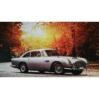 Plaque Aston Martin DB5