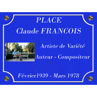 PLACE CLAUDE FRANCOIS au moulin