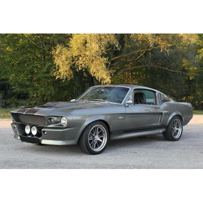 1967-SHelby-GT-500 art Vintage