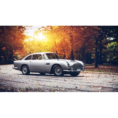 Plaque Aston Martin DB5
