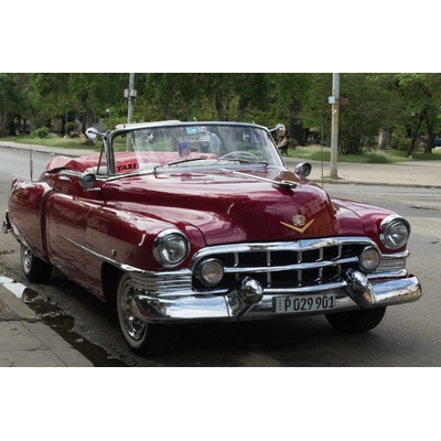 Cadillac Taxi Cuba